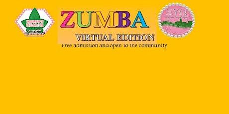 Virtual Zumba Fitness tickets
