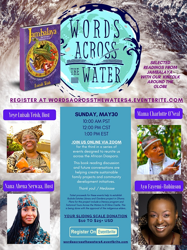 WORDS ACROSS THE WATERS 4 - A Tribute to Orisha Oya image