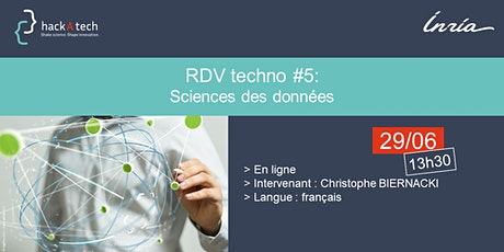 RDV techno #5 : Sciences des données billets