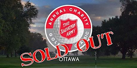 Salvation Army's 2021 Ottawa Charity Golf Classic tickets