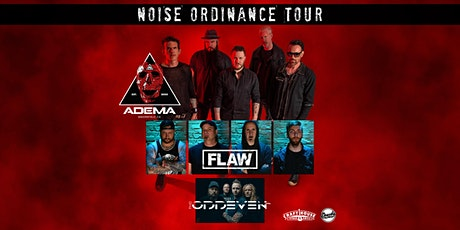 Noise Ordinance Tour 2021 featuring Adema with Flaw tickets