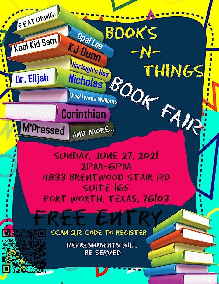 Books -N-Things Book Fair image