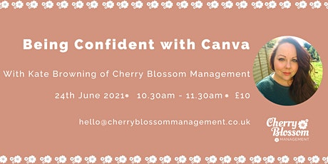 Being confident with Canva tickets