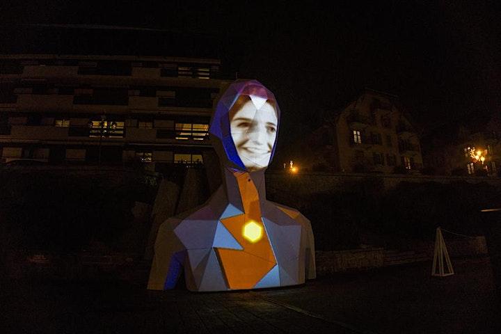 Image pour Visite de l'expocollective #18 : Face de Thomas Voillaume