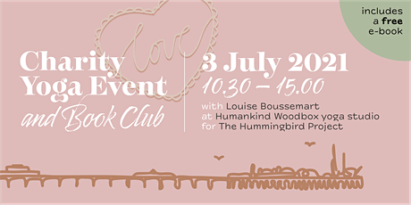 Charity Yoga Class,  and Book Club tickets