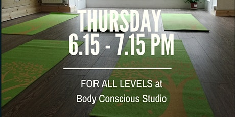 Thursday night yoga class for all levels  with Chandra tickets