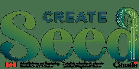 CREATE SEED - Summer School 2021 tickets
