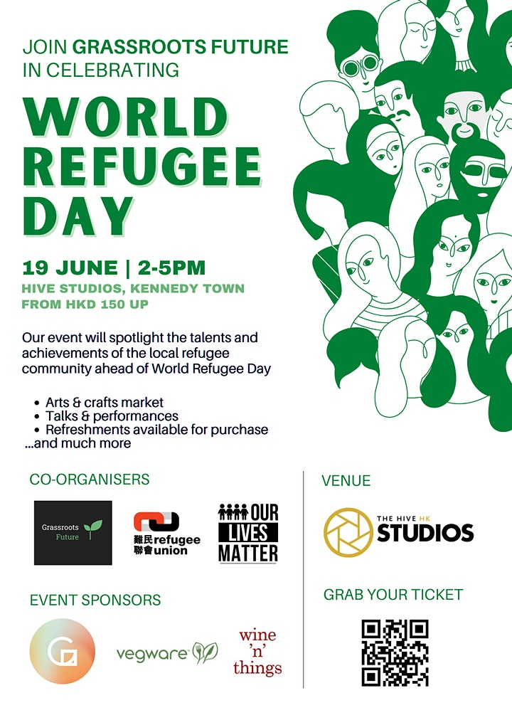 Grassroots Future Presents: World Refugee Day Celebration image