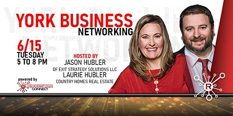 Free York Business Networking Event (June, PA) tickets