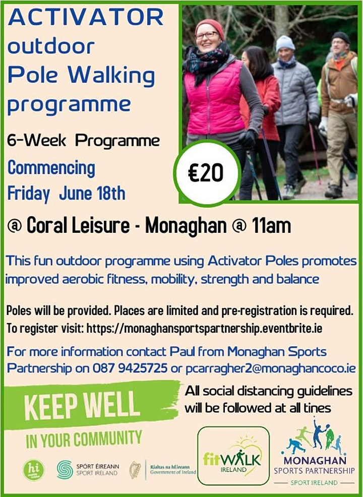 Activator Poles Programme @ Coral Leisure Monaghan image