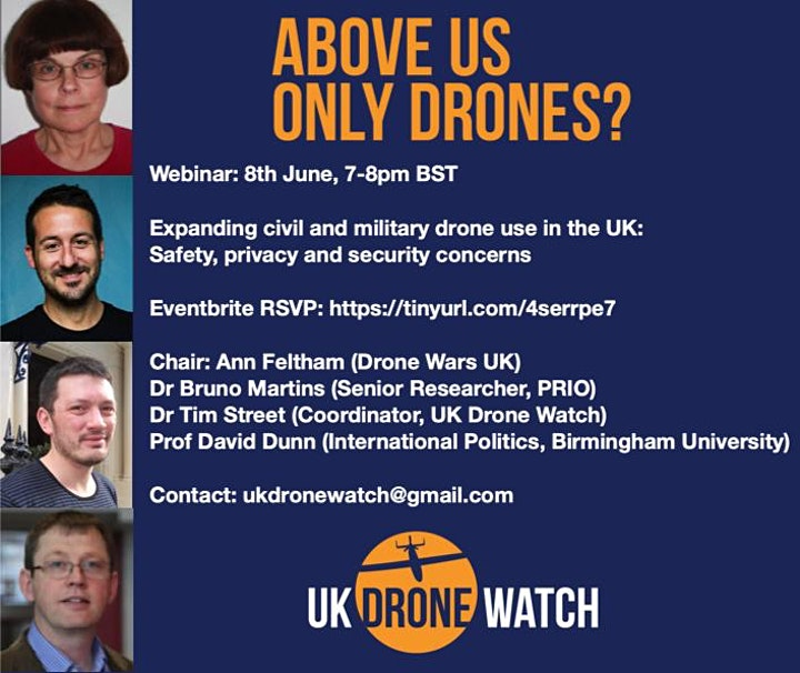 Above us only drones? Expanding UK drone use: safety and privacy concerns image