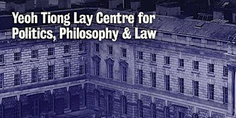 The YTL Centre Annual Lecture : 'The Dignity of Old Age' tickets