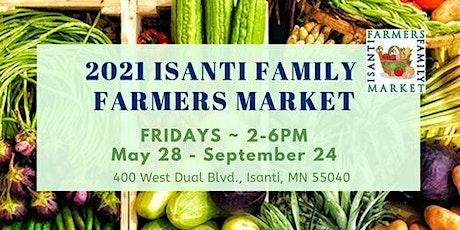Isanti Family Farmers Market tickets