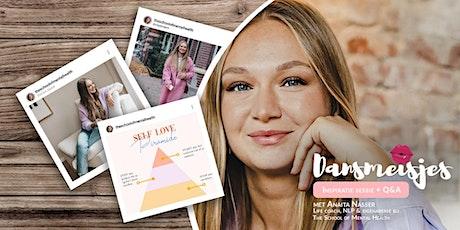 Online Gratis Womentalk inspiratiesessie + Q&A met Anaïta Nasser tickets