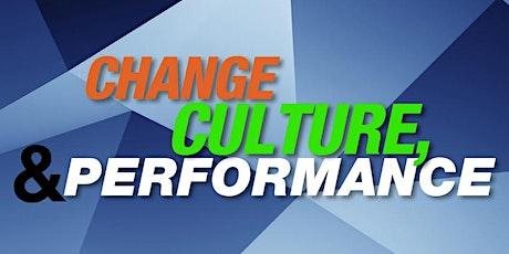 Change, Culture & Performance Free Webinar tickets