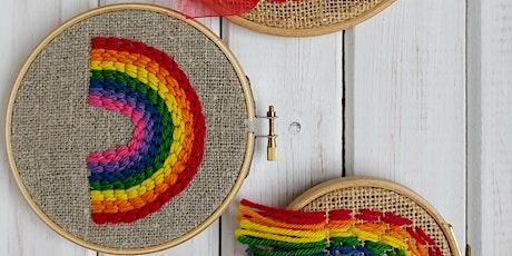 Do It Club: Family Slow Stitching Rainbows Workshop tickets