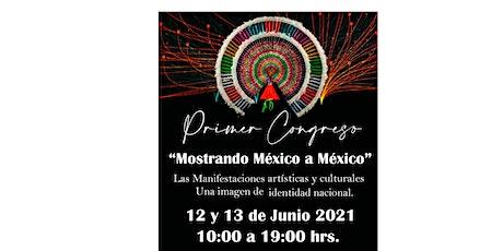 Primer Congreso Mostrando México a México boletos