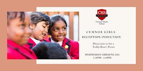 Cumnor Girls, Reception Induction tickets
