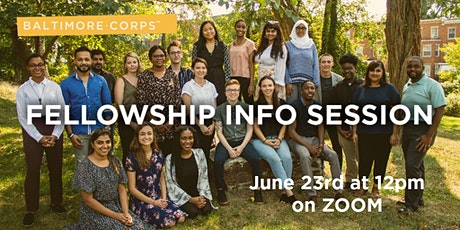 Baltimore Corps Fellowship Information Session tickets