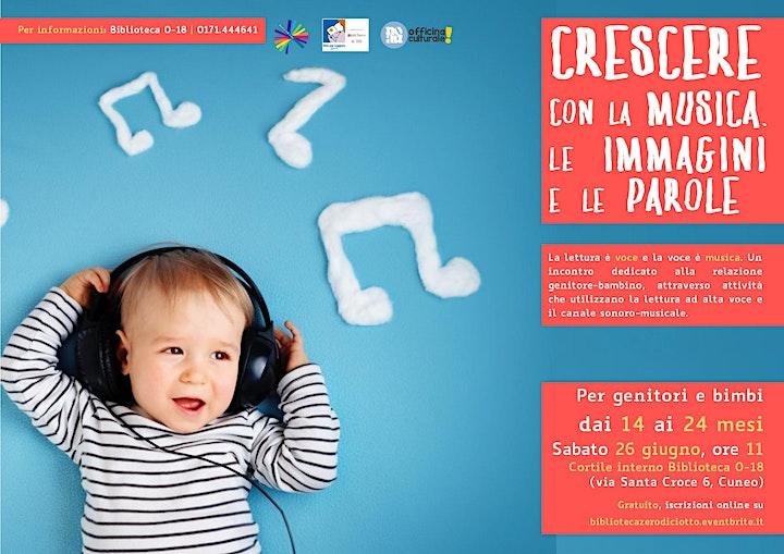 Immagine Crescere con la musica, le immagini, le parole (14-24 mesi)