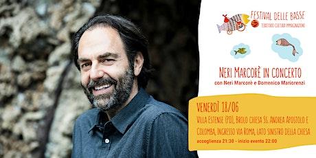 Neri Marcorè Le mie canzoni altrui biglietti