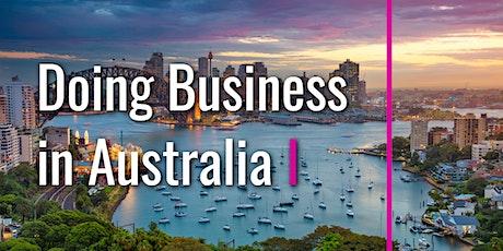 Doing Business in Australia biljetter