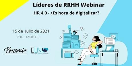 HR 4.0 - ¿Es hora de digitalizar? biglietti