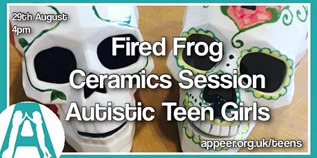 Appeer Teenage Girls' Ceramics Painting at Fired Frog in Woking (13-18) tickets
