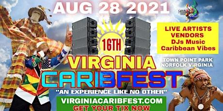 16TH ANNUAL VIRGINIA CARIBFEST 2021 tickets