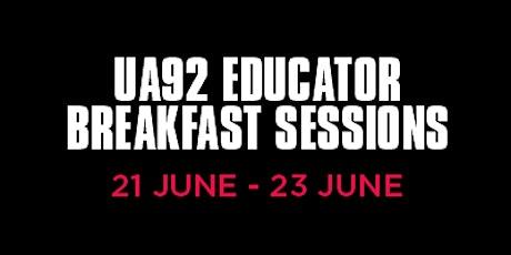 UA92 EDU Breakfast Sessions tickets