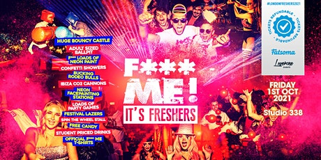 THE 2021 F-ME IT'S FRESHERS AT STUDIO 338! tickets