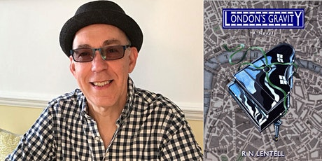Author R.N.Lentell introduces his new book London's Gravity tickets