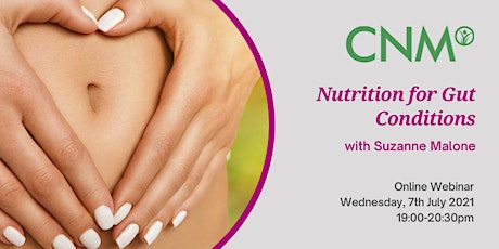 CNM Ireland Health Talk:  Nutrition for Gut Conditions tickets