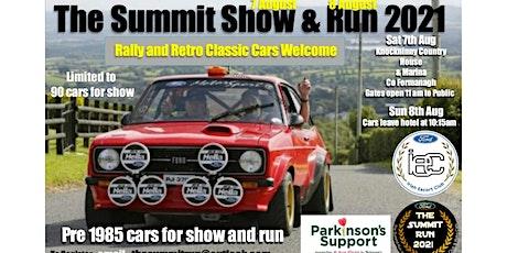 The Summit Show & Run - August 2021 tickets