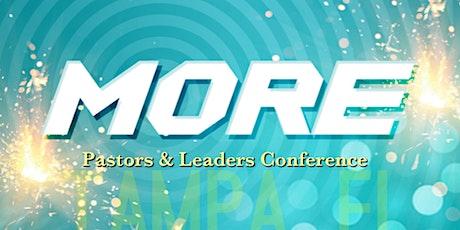 MORE Pastors & Leaders Conference entradas