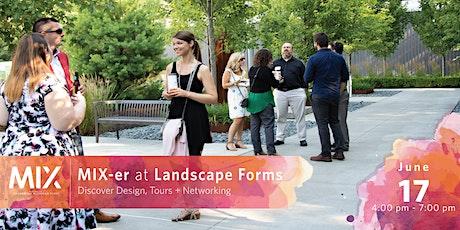 MIX-er at Landscape Forms tickets