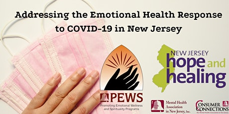 Addressing the Emotional Health Response to COVID-19 in New Jersey tickets