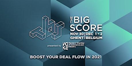 The Big Score 2021 billets