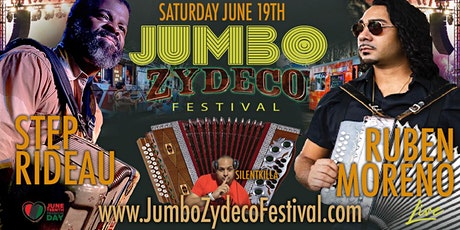 Jumbo Zydeco Festival  | Saturday June 19th 2021 tickets