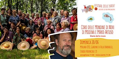 Coro Mondine di Novi di Modena e Mirko Artuso biglietti