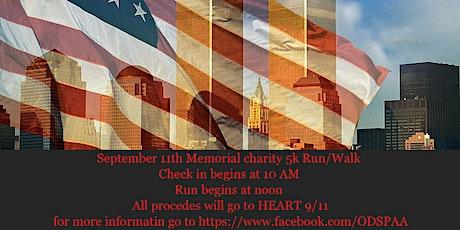 September 11th Memorial 5k tickets