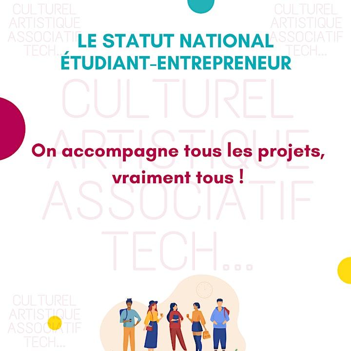 Image pour Présentation du Pépite CréaJ et premiers pas vers l'entrepreneuriat !