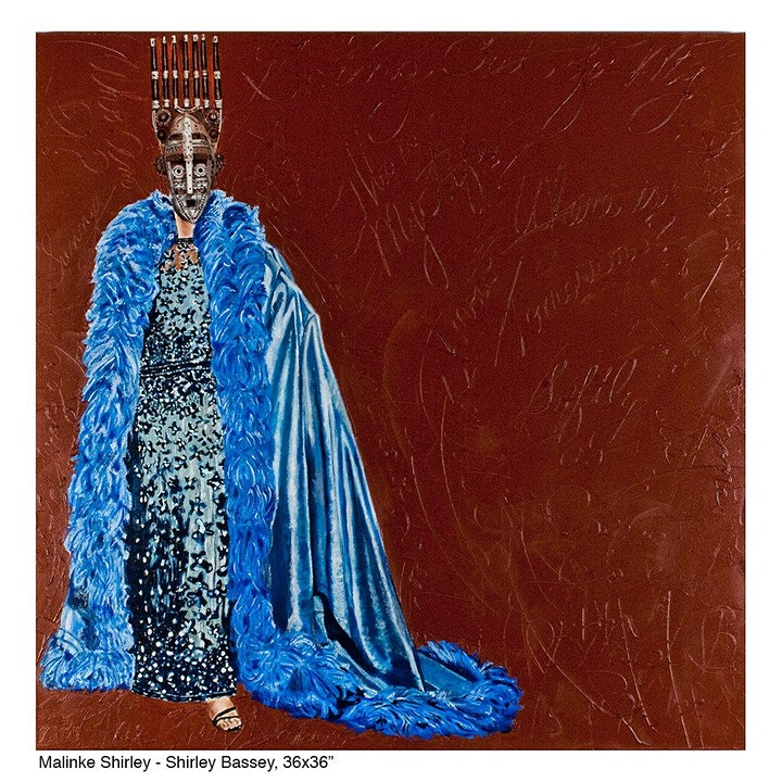MARGARET ROSE VENDRYES: THE AFRICAN DIVA PROJECT, A SOLO EXHIBITION image