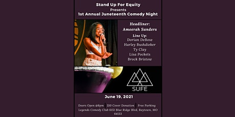 Stand Up For Equity Presents 1st Annual Juneteenth Comedy Night tickets