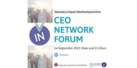 CEO Network Forum tickets