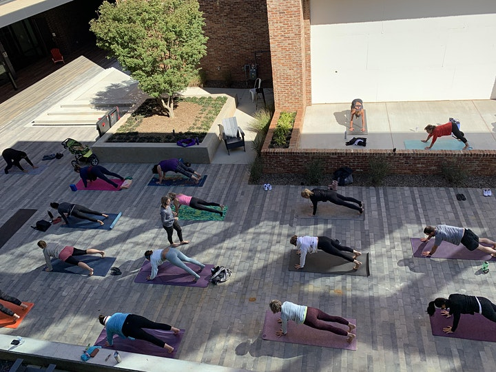 Yoga and Beer at Barleygarden Fayetteville image