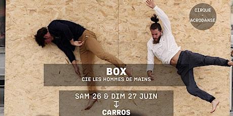 BOX - Cie les Hommes de Main billets