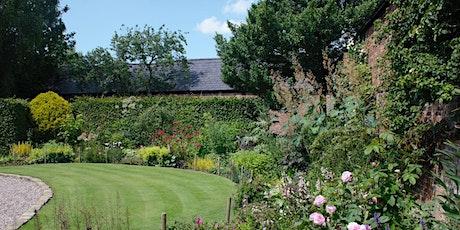 Ashton Grange open garden tickets
