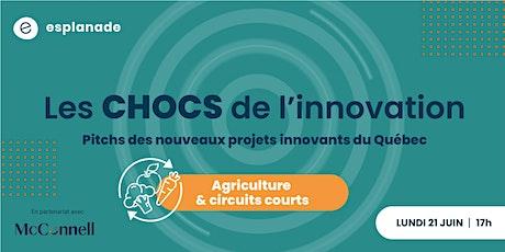 Les Chocs de l'Innovation - Édition agriculture et circuits courts billets