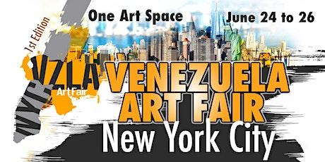 Venezuela Art Fair New York City * VIP Pre-Opening tickets